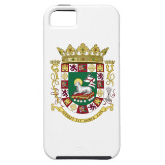 プエルトリコの紋章付き外衣 iPhone SE/5/5s ケース
