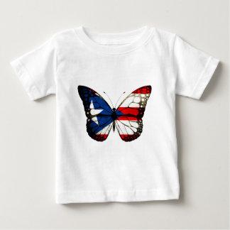 プエルトリコの蝶 ベビーTシャツ