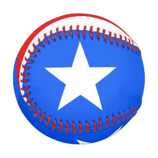 プエルトリコの野球の旗 ベースボール