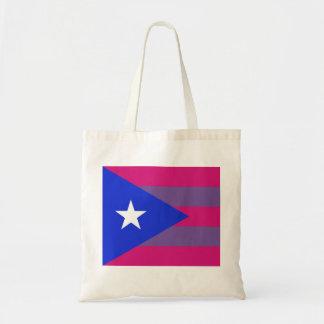 プエルトリコのBiのプライド両性LGBTのトートバック トートバッグ
