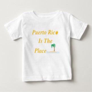プエルトリコは場所です ベビーTシャツ