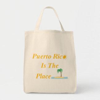 プエルトリコは場所のバッグです トートバッグ
