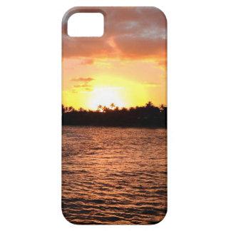 プエルトリコカリブの日没 iPhone SE/5/5s ケース