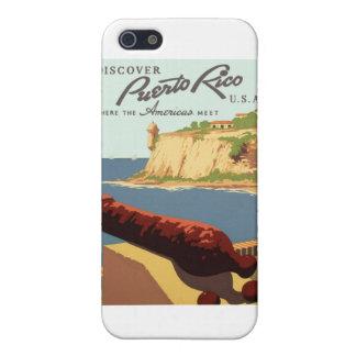 プエルトリコポスターを発見して下さい iPhone 5 COVER