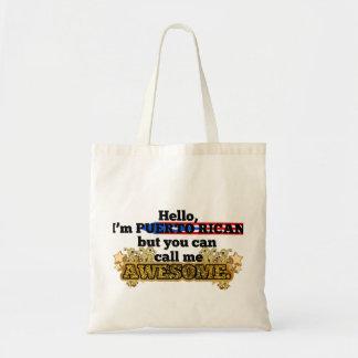 プエルトリコ人は、しかし私を素晴らしい電話します トートバッグ