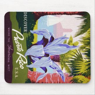 プエルトリコ米国、WPAの観光事業および公園ポスター マウスパッド