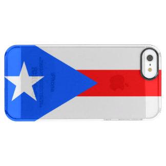 プエルトリコ クリア iPhone SE/5/5sケース