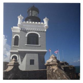 プエルトリコ、サンファン、古いサンファン、El Morro タイル