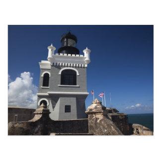 プエルトリコ、サンファン、古いサンファン、El Morro ポストカード