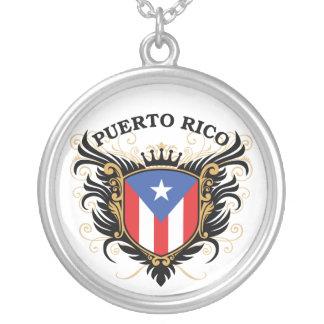 プエルトリコ シルバープレートネックレス