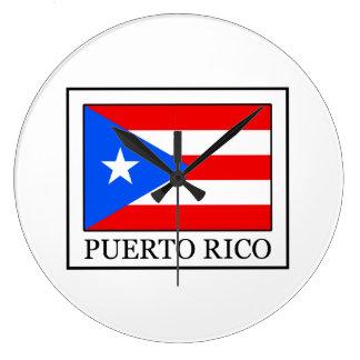 プエルトリコ ラージ壁時計