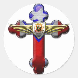 プエルトリコ-十字及びシール ラウンドシール