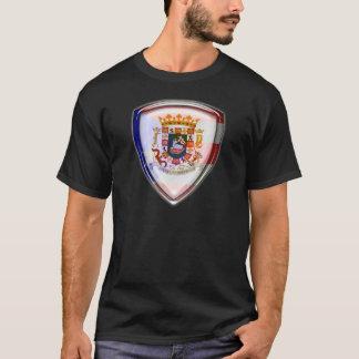 プエルトリコ-盾のシール Tシャツ