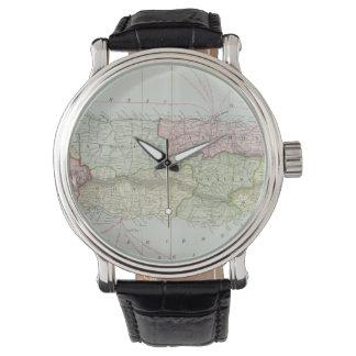 プエルトリコ(1901年)のヴィンテージの地図 腕時計