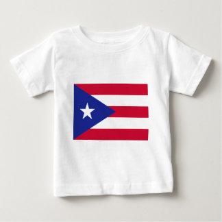 プエルトリコ- Bandera deプエルトリコの旗 ベビーTシャツ