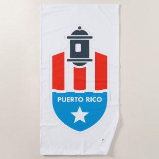 プエルトリコ%PIPE%のビーチタオル ビーチタオル