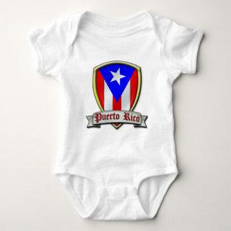 プエルトリコ- Shield2 ベビーボディスーツ
