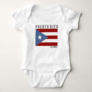 プエルトリコBoricua ベビーボディスーツ