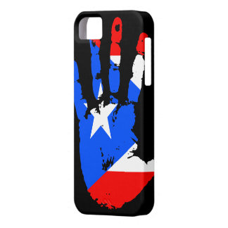 プエルトリコHandprintのiPhone 5カバー iPhone SE/5/5s ケース