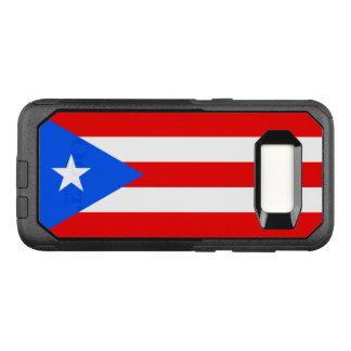 プエルトリコSamsungのオッターボックスの場合の旗 オッターボックスコミューターSamsung Galaxy S8 ケース