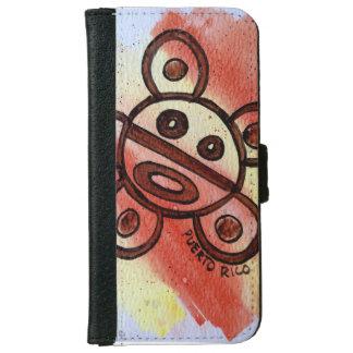 プエルトリコTaino日曜日のiPhone 6/6sのウォレットケース iPhone 6/6s ウォレットケース