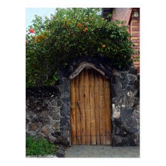 プエルトAyoraのドア、ガラパゴス諸島 ポストカード