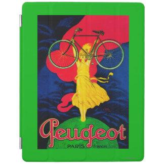 プジョーの自転車のヴィンテージPosterEurope iPadスマートカバー