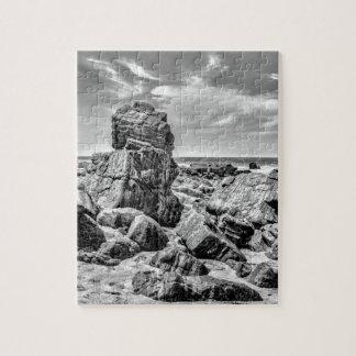 プライアMalhada Jericoacoara Braziの海岸の石 ジグソーパズル