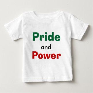 プライドおよび力 ベビーTシャツ