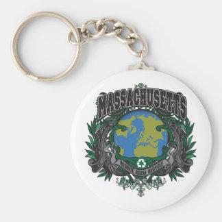 プライドのリサイクルマサチューセッツ キーホルダー
