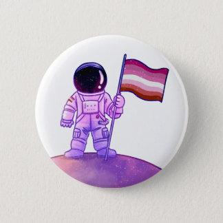 プライドの宇宙飛行士[レズビアン] 5.7CM 丸型バッジ