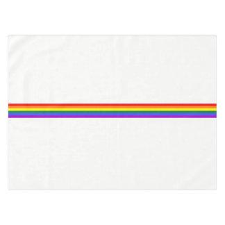 プライドの旗の虹のカスタムのテーブルクロス テーブルクロス