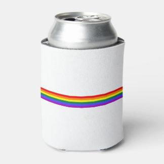 プライドの旗の虹の缶ビールのクーラー 缶クーラー