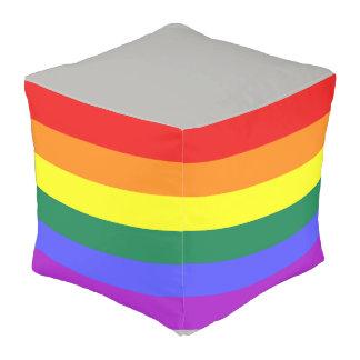 プライドの虹の旗のpouf プーフ