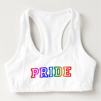 プライドの虹はブラを遊ばします スポーツブラ