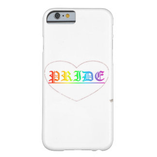 プライドの電話箱 BARELY THERE iPhone 6 ケース