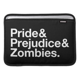 プライド及び偏見及びゾンビ MacBook スリーブ