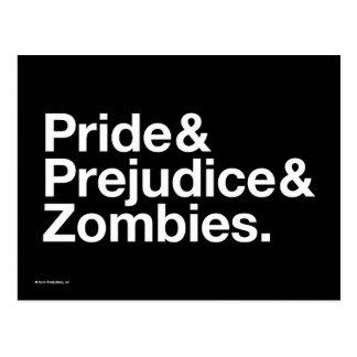 プライド及びPredjudice及びゾンビ ポストカード