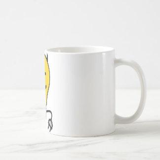 プラグの尾を搭載する悪魔の電球 コーヒーマグカップ