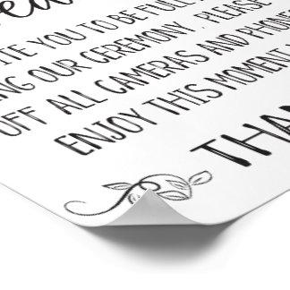 """プラグを抜かれる結婚しますPrintablesを""""結婚する印を ポスター"""