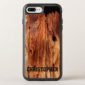 プラスのどによって風化させる木製のオッターボックスのiPhone 7 オッターボックスシンメトリーiPhone 8 Plus/7 Plusケース
