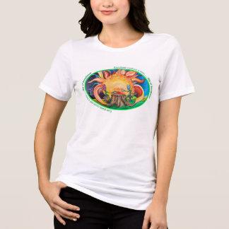 """プラスのサイズの""""日光の一口""""のワイシャツ Tシャツ"""