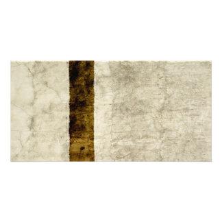 プラスターアンティークの紙のテンプレートのブランクのニュートラル カード