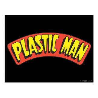 プラスチック人のロゴ ポストカード