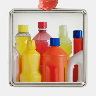 プラスチック洗浄力があるボトル メタルオーナメント