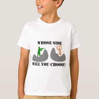 プラスチック軍隊の人 Tシャツ