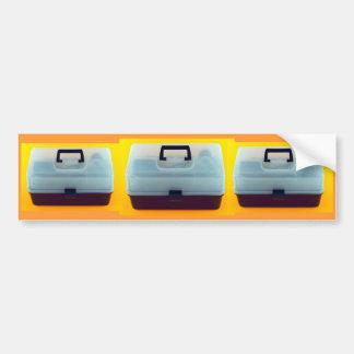 プラスチック道具箱 バンパーステッカー