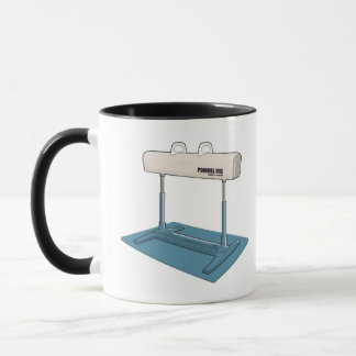 プラスチック馬 マグカップ