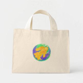 プラスチック・バッグの金魚 ミニトートバッグ