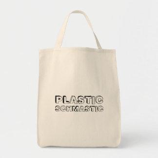 プラスチックSchmastic -食料雑貨の戦闘状況表示板 トートバッグ